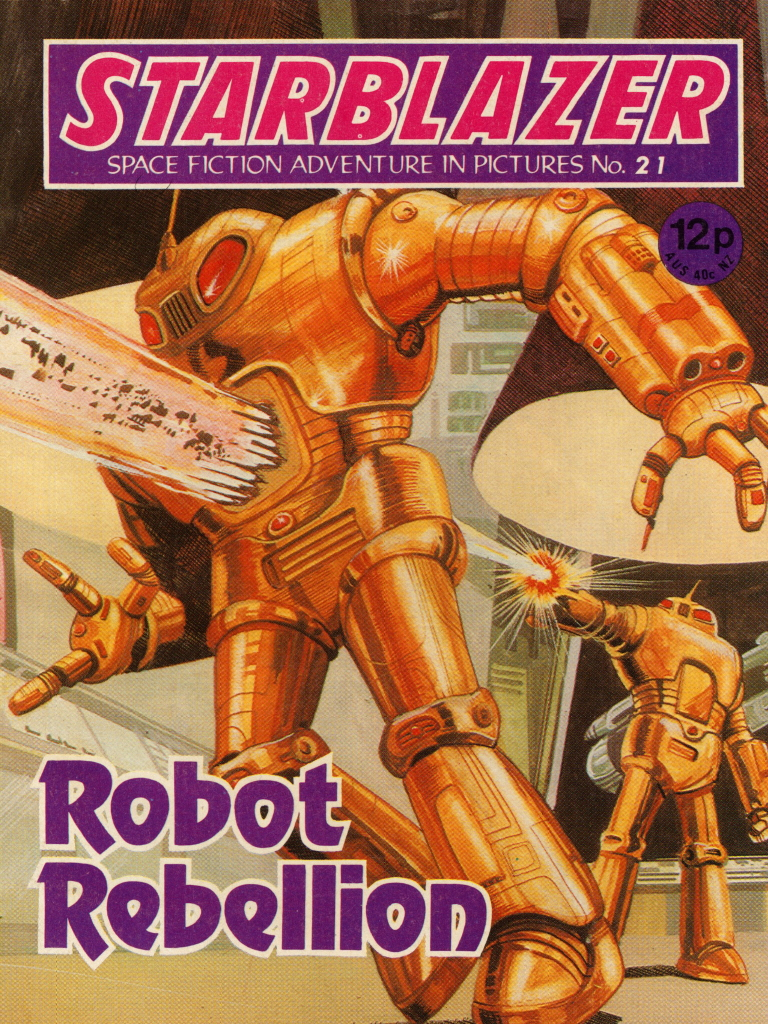 Starblazer No. 21: Robot Rebellion