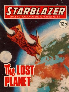 Starblazer Issue 33