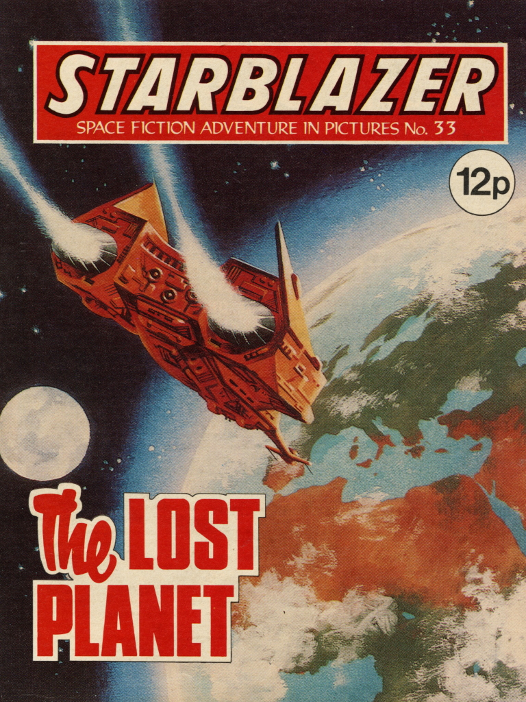 Starblazer No. 33: The Lost Planet