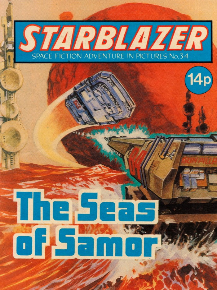 Starblazer No. 34: The Seas of Samor