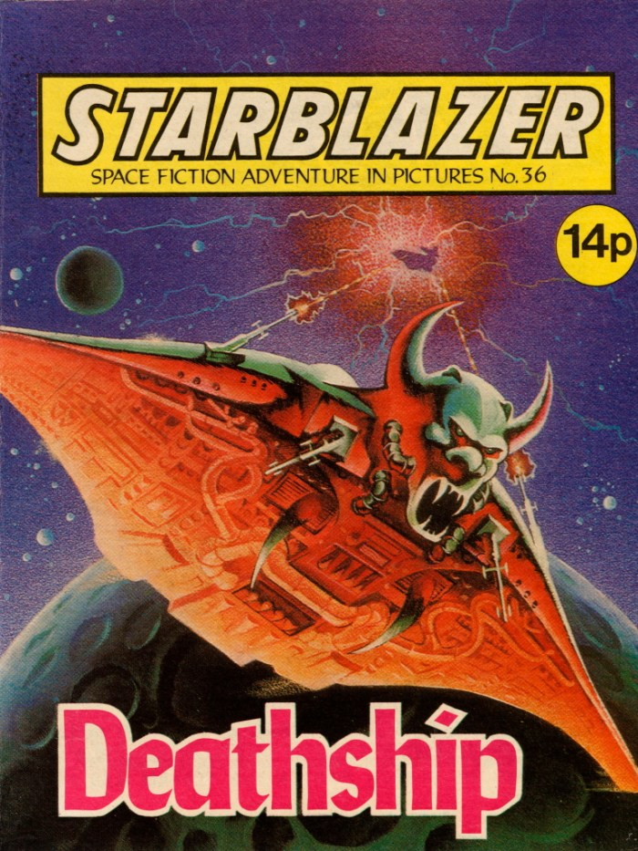 Starblazer Issue 36