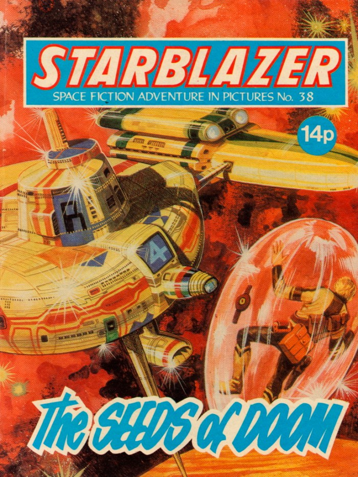 Starblazer No. 38: The Seeds of Doom
