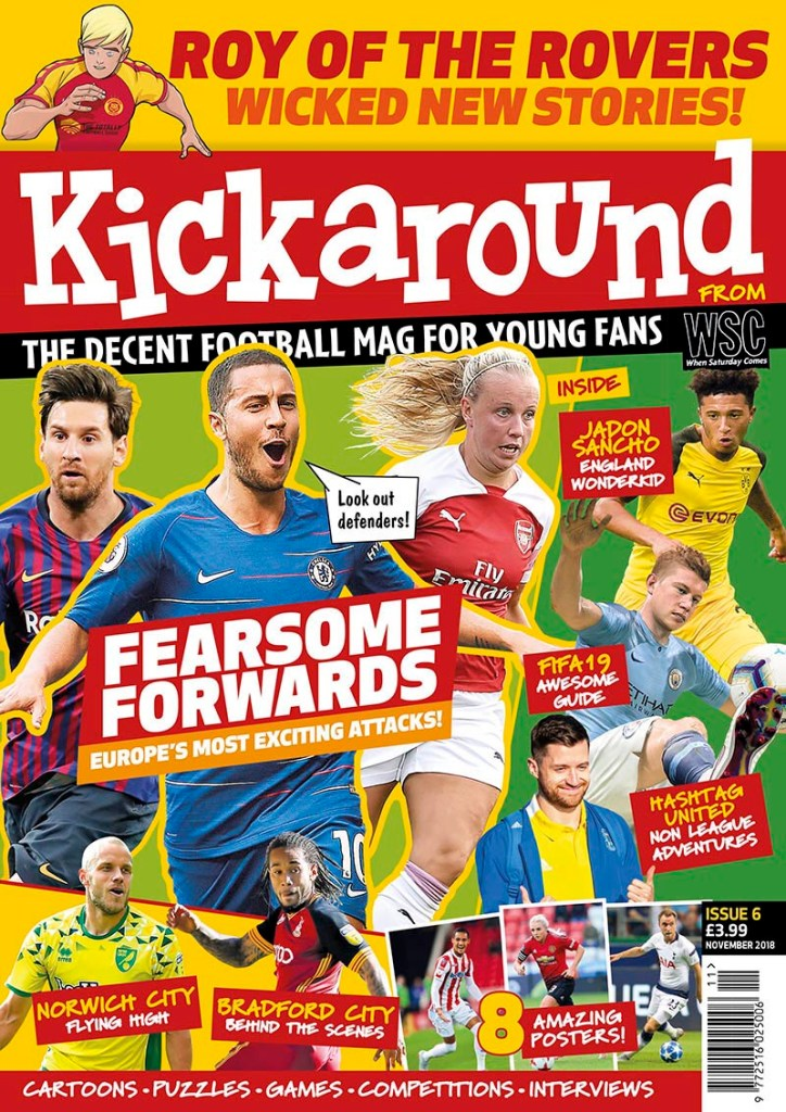 Kickaround Issue 6 - Cover