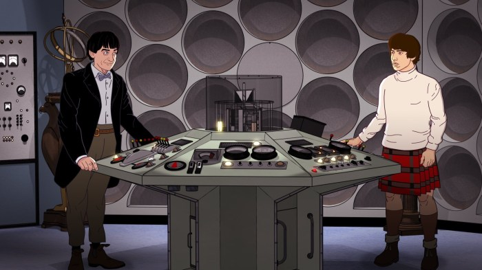 Doctor Who - The Wheel in Space - Animated Minisode. © BBC/ BBC Studios