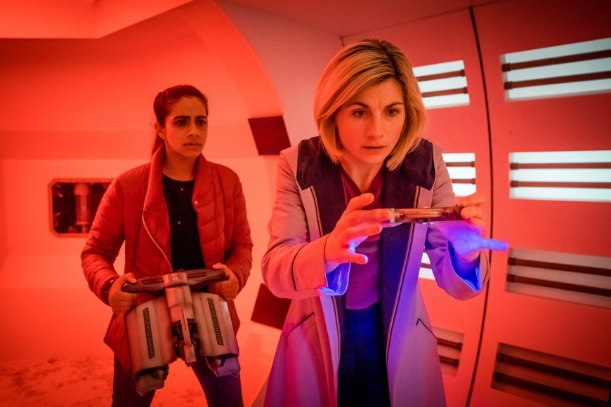 Doctor Who: The Tsuranga Conundrum. Image: BBC/BBC Studios