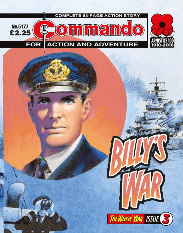 Commando 5177: Action and Adventure: Billy's War