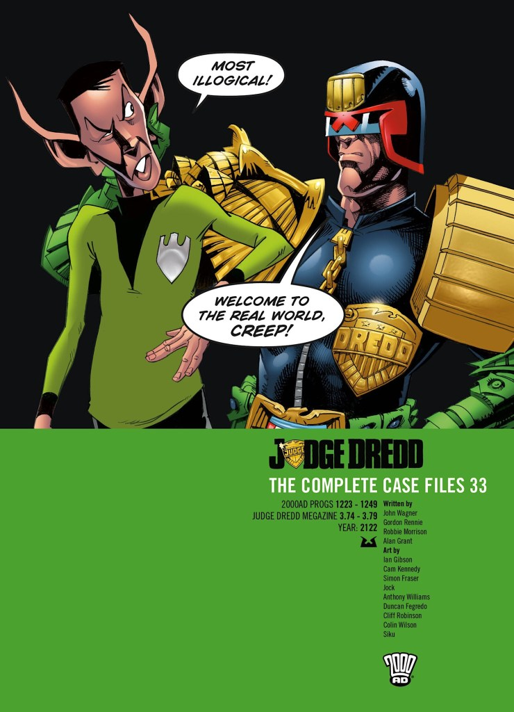 Judge Dredd: The Complete Case Files 33
