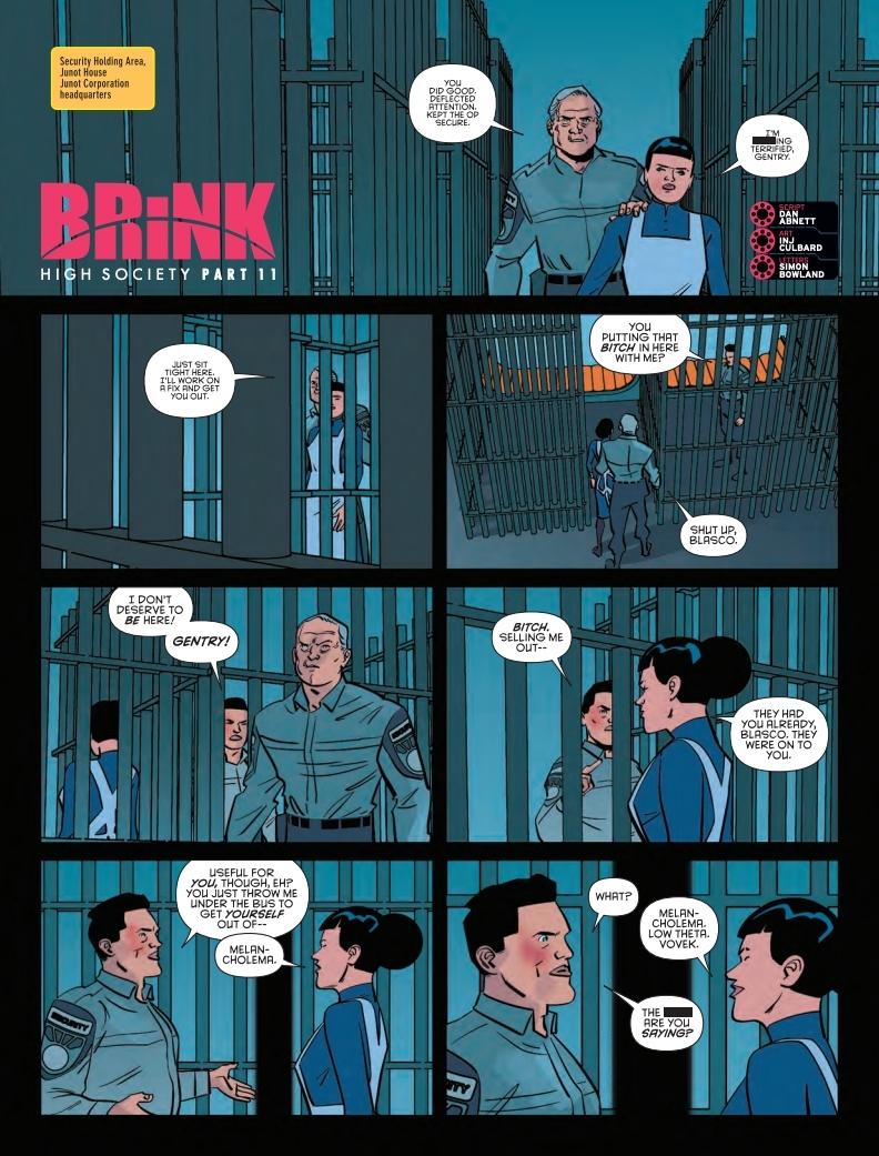 2000AD 2110 - Brink - High Society (part 11)