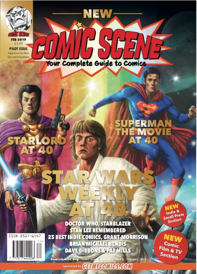 ComicScene Volume 2 Issue 0