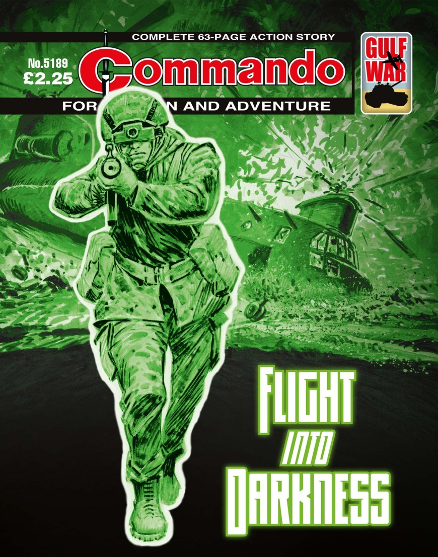 Commando 5189: Action and Adventure - Flight into Darkness