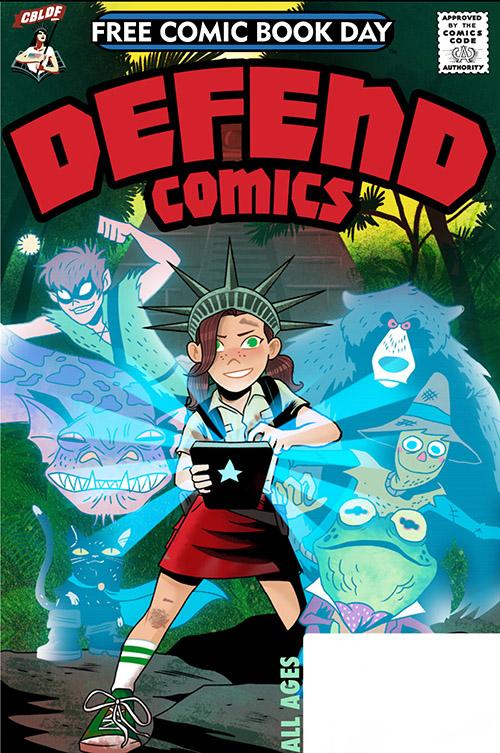 DEFEND COMICS — FREE COMIC BOOK DAY 2019