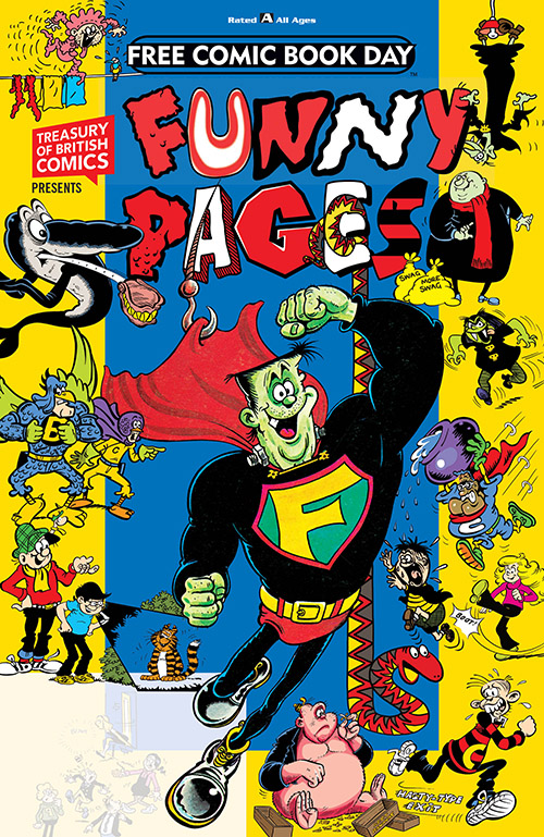 TREASURY OF BRITISH COMICS PRESENTS: FUNNY PAGES — FREE COMIC BOOK DAY 2019