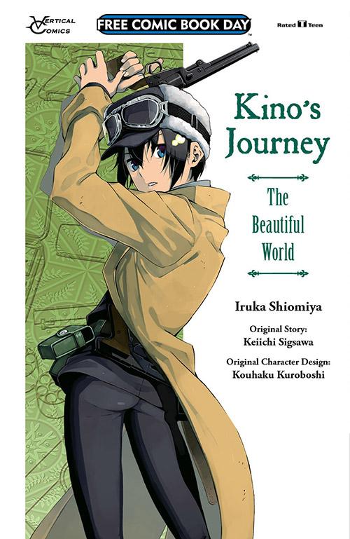 KINO'S JOURNEY: THE BEAUTIFUL WORLD SAMPLER — FREE COMIC BOOK DAY 2019
