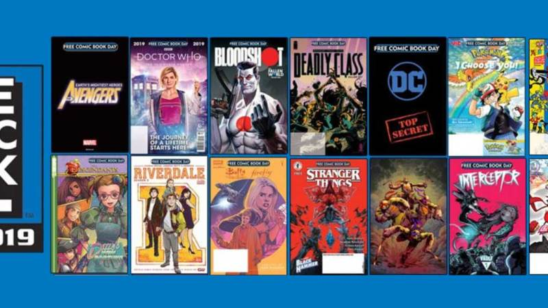 Free Comic Book Day 2019 Full List of Comic Books Announced, plus a 2000AD 99p Special!