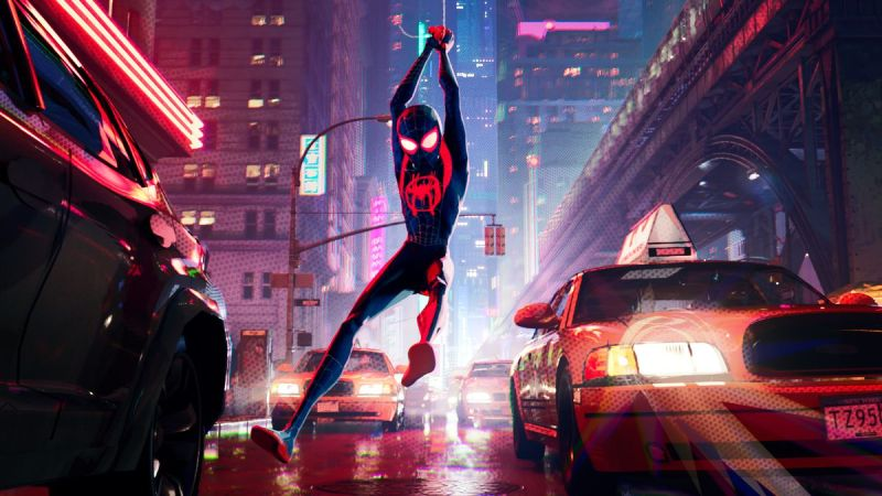 Spider-Man: Into The Spider-Verse storms UK's home entertainment Official Film Chart