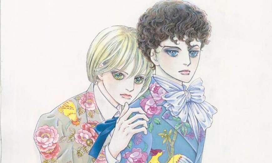 Allan and Edgar, the main characters from the Poe Clan series by Moto Hagio, which focuses on a family of vampires.