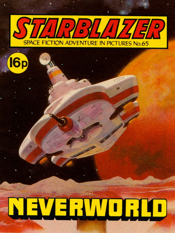 Starblazer 65: Neverworld