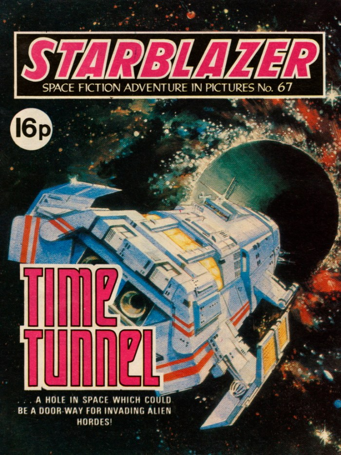 Starblazer 67: Time Tunnel