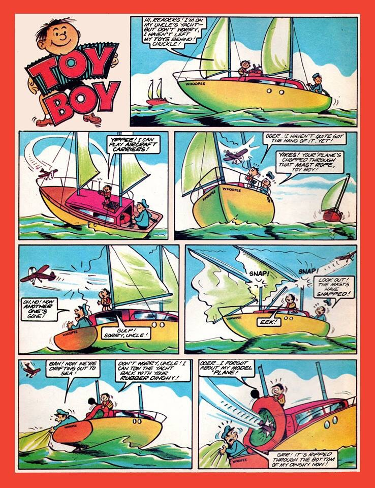 In Memoriam: Whizzer & Chips, Dandy cartoonist Terry Bave