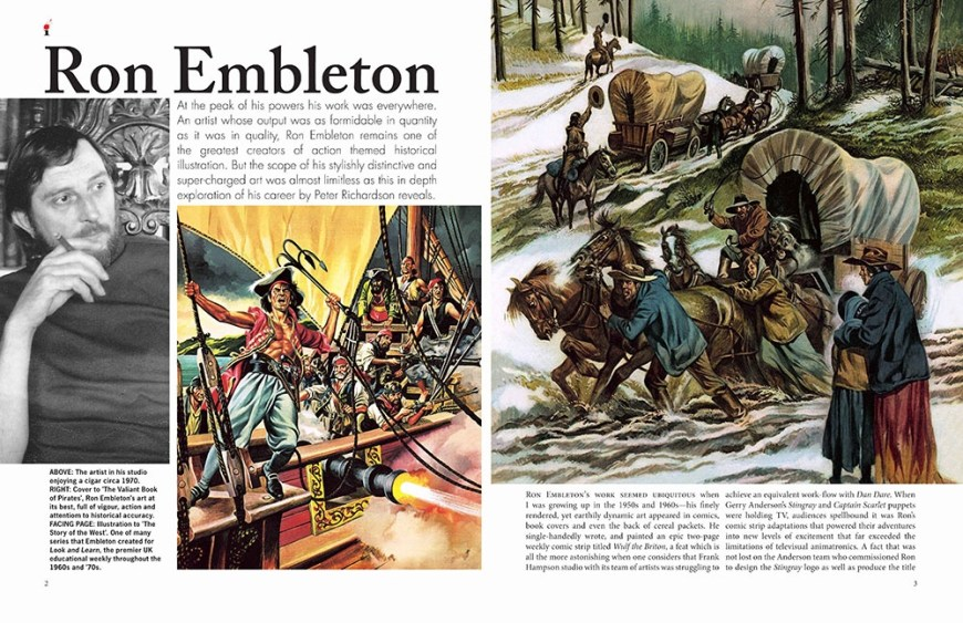 Ron Embleton Illustrators Special