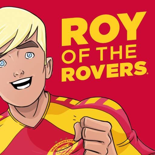 Roy of the Rovers App Art 2018