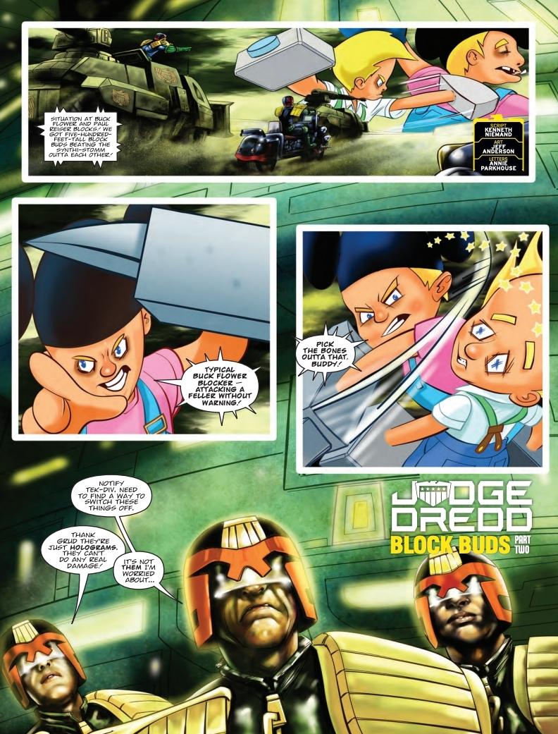 2000AD 2114 - Judge Dredd