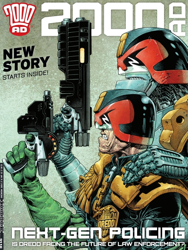 2000AD 2115 - Cover