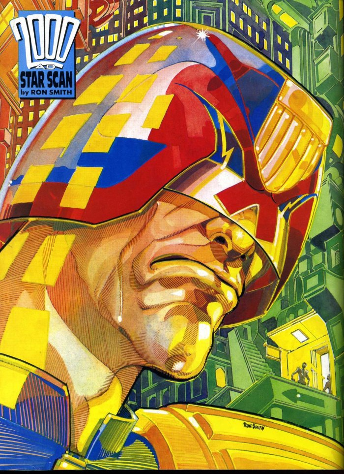 2000AD Star Scan - Judge Dredd