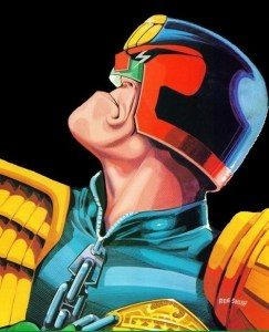 Judge Dredd by Ron Smith