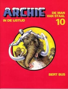 De Man van Staal 10 - In de ijstijd - cover
