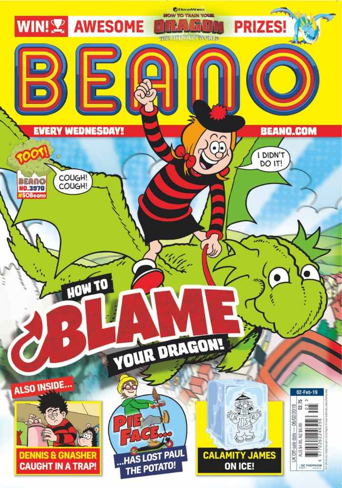 Beano 3970 - On sale now in all good newsagents and crammed with good jokes
