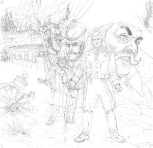 Creating Comics: The Making of Commando Comic cover No. 5193 – 'Cold Steel'