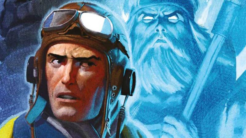 Viking ghosts and a man from Mars menace in new Commando comics!