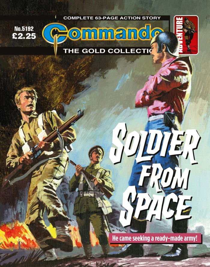 Commando 5192: Gold Collection: Soldier from Space