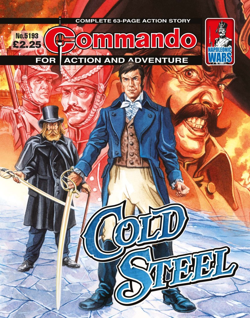 Commando 5193: Action and Adventure: Cold Steel