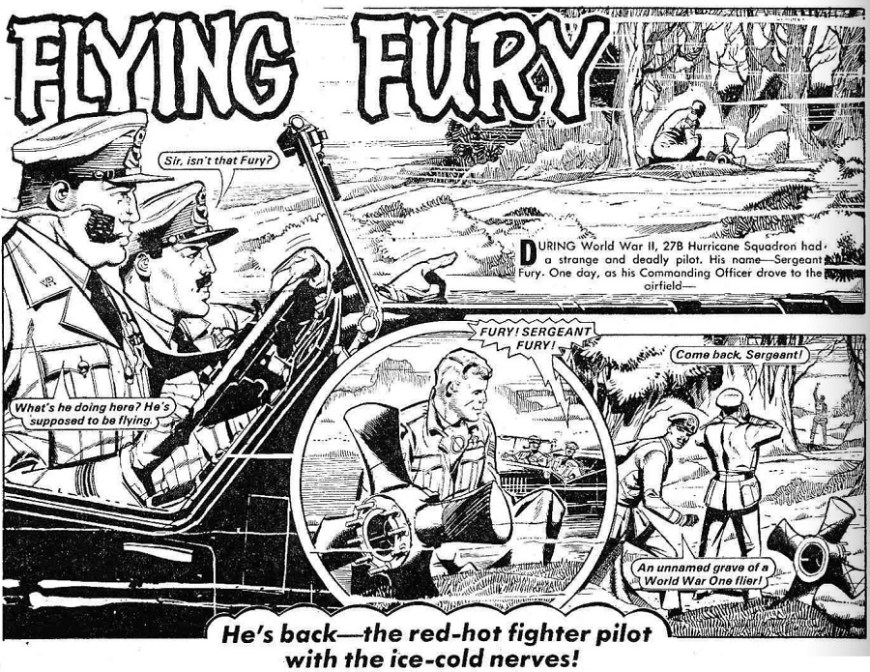 Flying Fury 1069 Hotspur