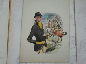 Horse Rider Illustration by John Armstrong