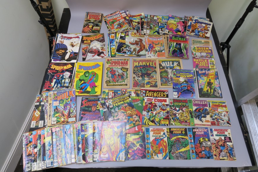 Astons Auctioneers - January 2019 - Marvel UK comics