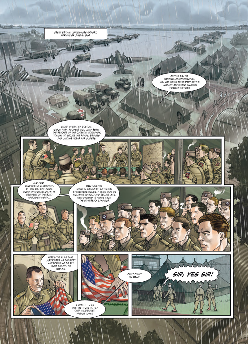 Operation Overlord 1 - Sample Art