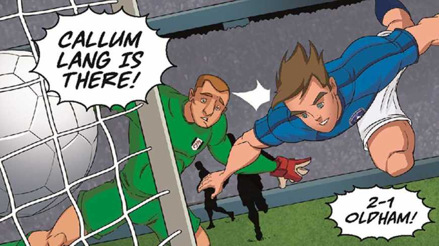 Third round Emirates FA Cup heroes have been immortalised in a limited-edition Roy of the Rovers comic, available to download free now
