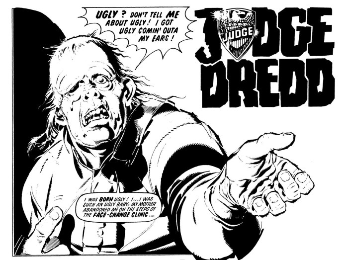 2000AD - Otto Sump by Ron Smith