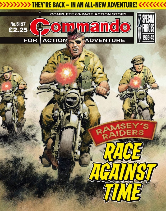 Commando 5197: Action and Adventure: Ramsey's Raiders: Race Against Time