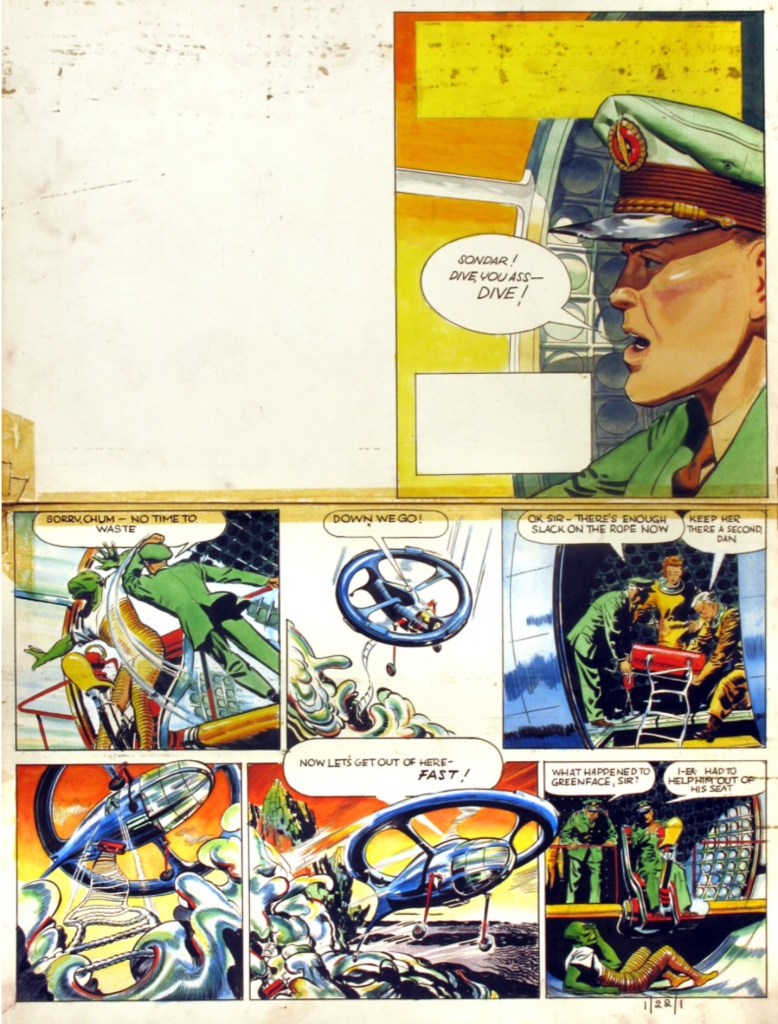 """Dan Dare"" for Eagle Volume One, Issue 22"
