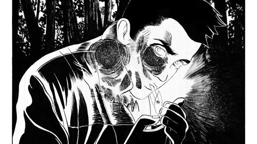 Burn Man, a surreal graphic novel by Shawn Kuruneru