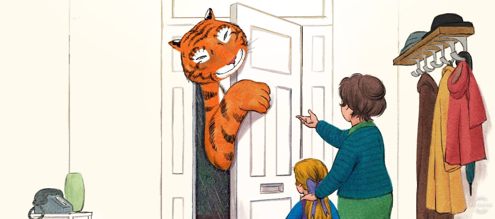 """Animated """"The Tiger Who Came to Tea"""" heads to Channel 4"""