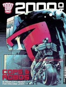 2000AD Prog 2119 - Cover