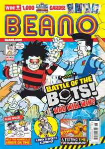Dennis and Gnasher continue to star in Beano, on sale every Wednesday