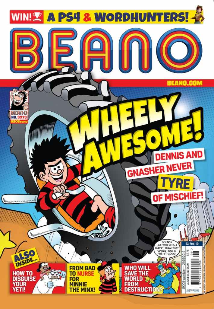 Beano 3972 - Cover