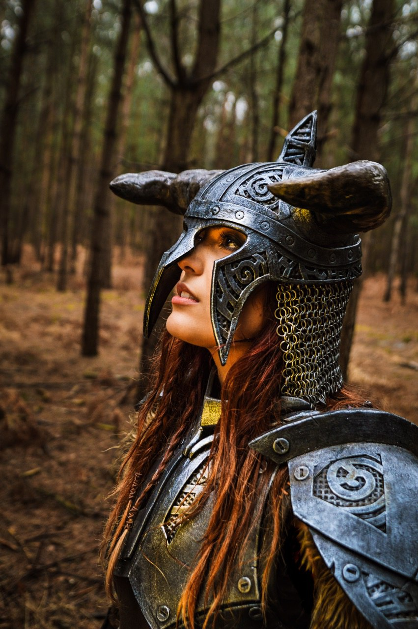 Isa as Dragonborn from The Elder Scrolls V: Skyrim. Photo courtesy The Cosplay Journal