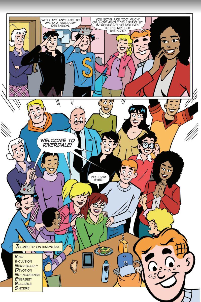 Kindness Works - Archie Comics